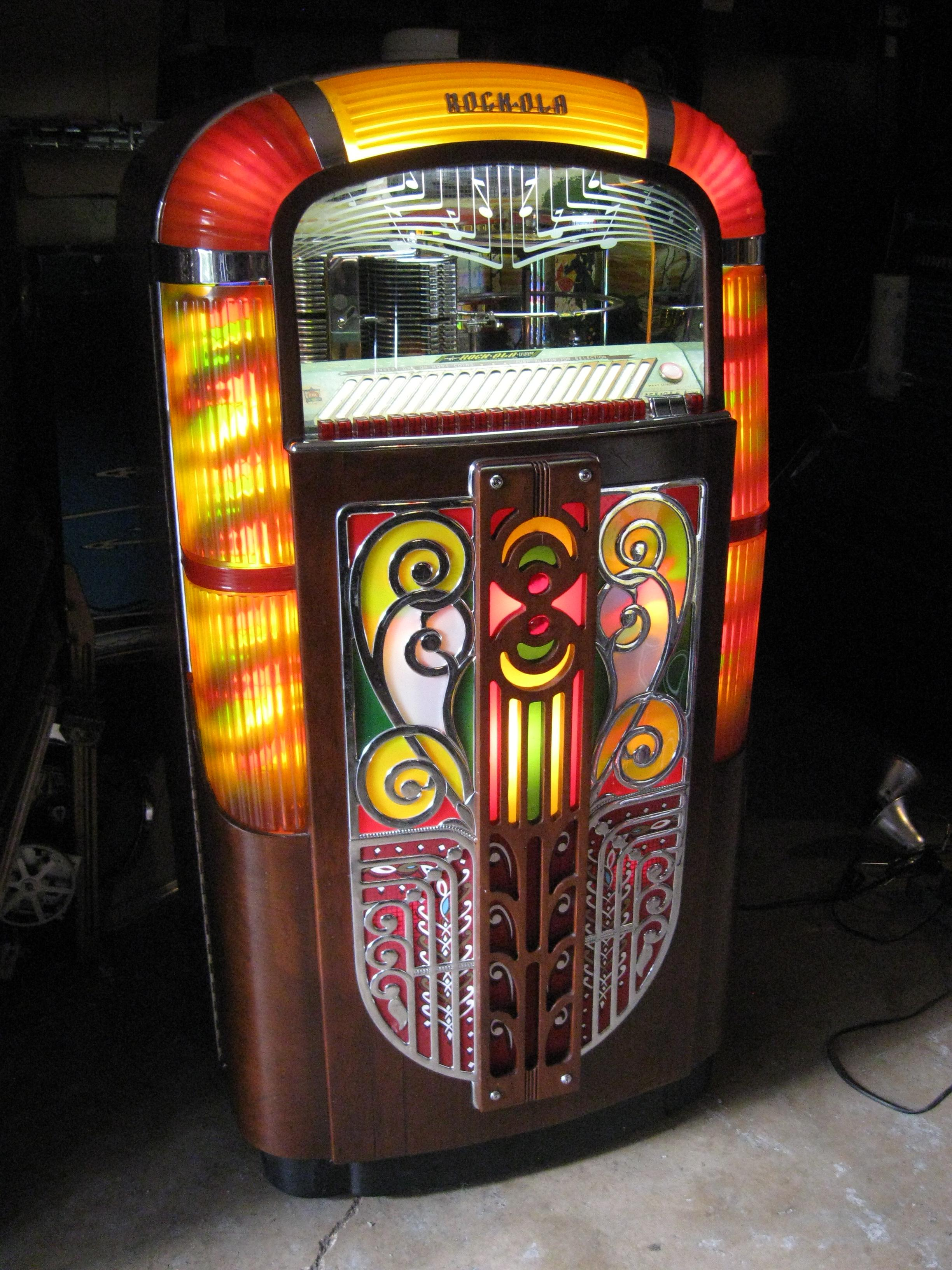 Rockola Jukebox model 1422 - Click Image to Close